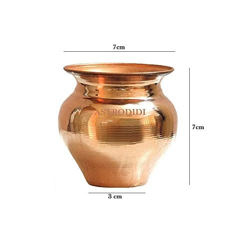 Astrodidi Copper Kalash/Tamba Lota Small Size