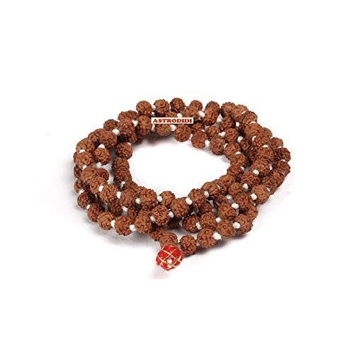 Astrodidi Small Beads Rudraksha Mala for Kids