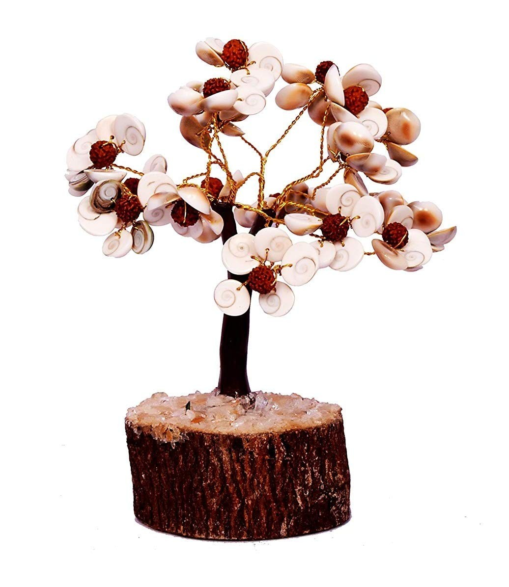 Astrodidi Gomti Chakra Tree with Rudraksha Beads Small Size