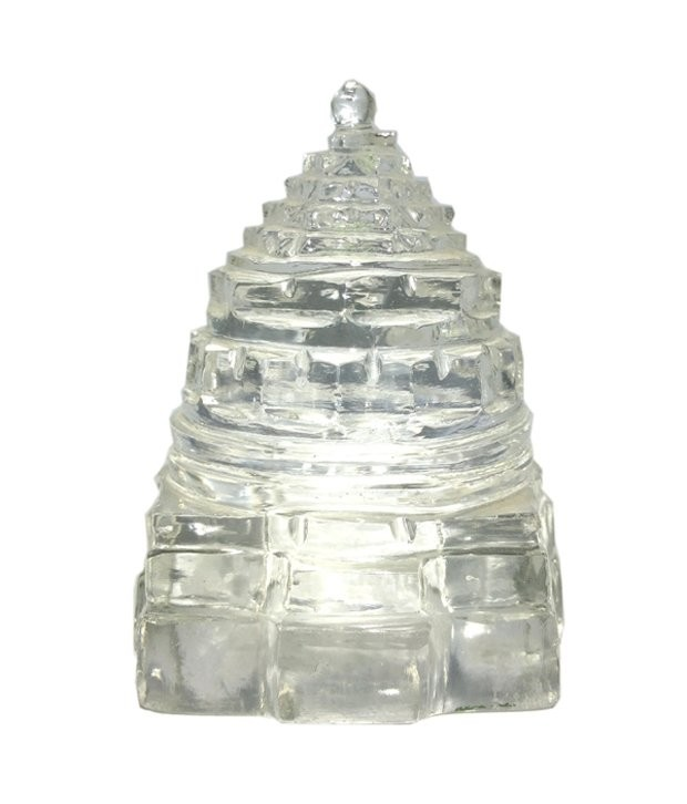 Astrodidi Sphaik (Crystal) Shree Yantra with Lab Certificate (20-25 Gram)