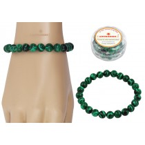 Astrodidi Malachite Gemstone Bracelet (Handmade-Stretchable)